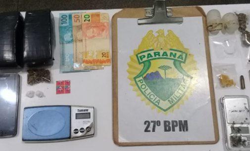 Polícia Militar prende dois traficantes em União da Vitória
