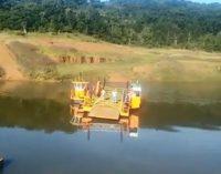 Marinha do Brasil libera Balsa de Cruz Machado e Pinhão