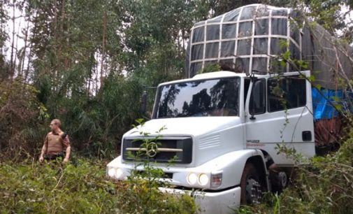 Dois caminhões de fumo são recuperados no Sul do Paraná