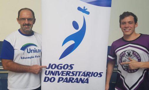 UNIUV esteve presente nos Jogos Universitários do Paraná