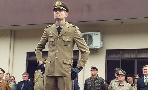 Capitão Paulo Ricardo Galle assume comando da PM de Porto União