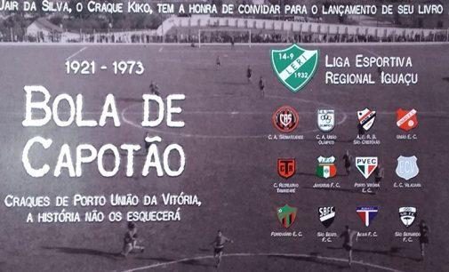 Craque Kiko lança livro sobre a história do futebol amador
