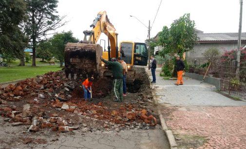 Secretaria de Obras de União da Vitória faz melhorias em ruas