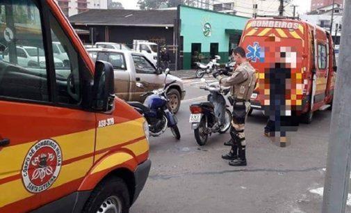 PM registra acidente entre duas motos no Cidade Nova