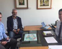Prefeito de General Carneiro cumpre agenda em Curitiba