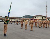 Militares recebem honrarias em cerimônia ao dia do Patrono da PM do Paraná