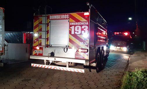 Porto União: Cobertor em que criança estava enrolada pega fogo