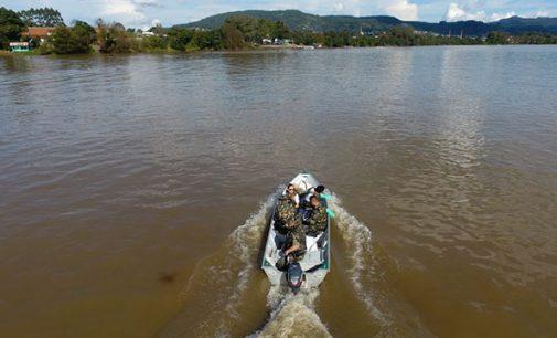 Polícia Ambiental de SC participa da 8ª edição do Projeto Rio Limpo