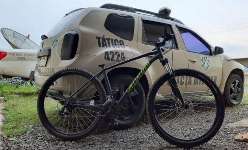 Polícia Militar recupera bicicleta furtada no valor de R$ 4 mil reais