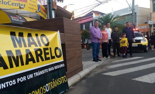 União da Vitória lança ações do Maio Amarelo