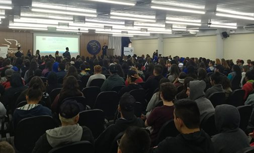 Alunos participam de palestra do Juiz Carlos Mattioli