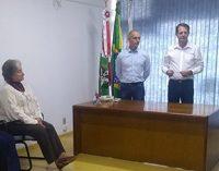 Percy Storck assume como Prefeito em exercício de Porto União