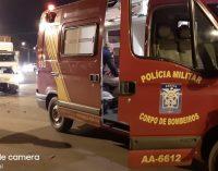 Acidente de trânsito em União da Vitória deixa uma pessoa ferida