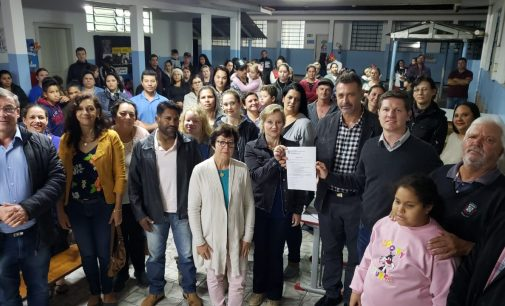 Comunidade escolar do Fruma Ruthemberg comemora reforma predial