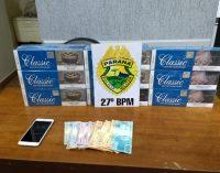 Homens são presos por contrabando de cigarros em Paulo Frontin