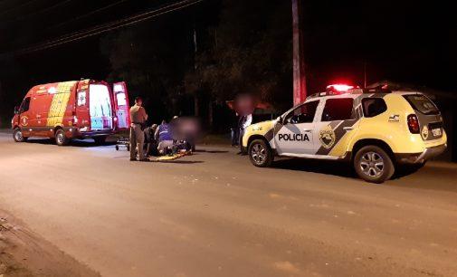 Acidente de trânsito em UVA deixa uma pessoa ferida