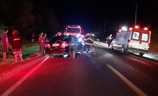 Acidente na BR 280 envolve três veículos em Irineópolis