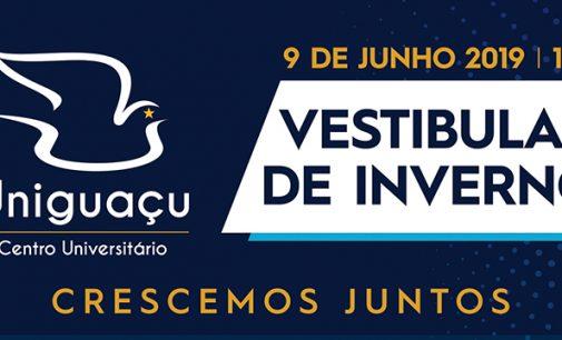 Uniguaçu lança Vestibular de Inverno 2019