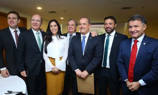 Acaert promove encontro de Onyx Lorenzoni com bancada catarinense