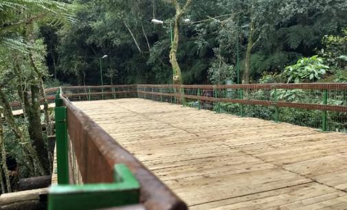 Parque do Monge João Maria em Porto União é reinaugurado