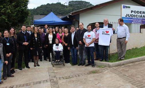 Posto Avançado do Fórum em Bituruna ganha nova sede