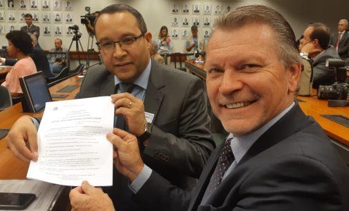 Prefeito de Bituruna participa de reunião em Brasília