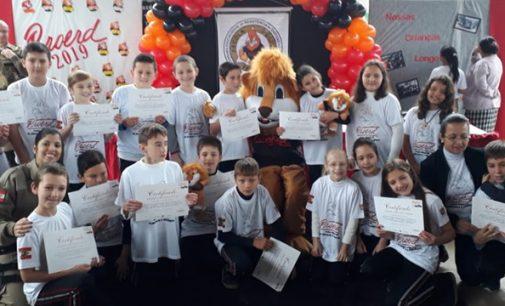 Proerd forma mais um grupo de alunos em Porto União