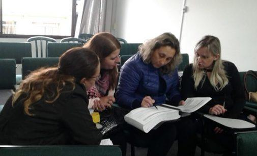 Secretaria de Educação de Cruz Machado participa de reunião no N.R.E