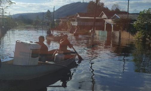 Rio Iguaçu estabiliza e Defesa Civil está monitorando