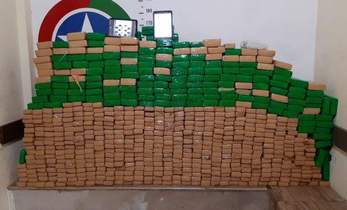 Polícia Militar apreende mais de 500 kg de droga em Irineópolis