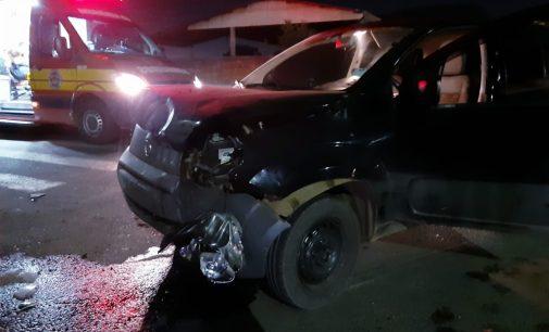 Acidente no bairro Santa Rosa deixa uma pessoa ferida