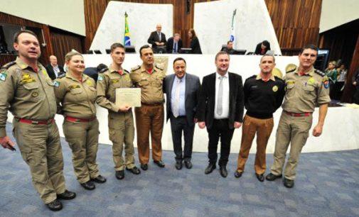 Tenente BM Aleixo é homenageado na Alep