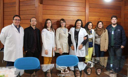 Sala Smart Uniguaçu desenvolve projetos para a comunidade e IES