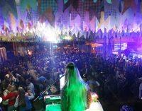 Festerê na Praça de Cruz Machado foi um sucesso