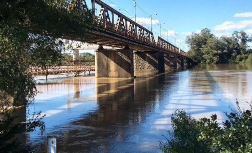 Rio Iguaçu: Nível em UVA deve se aproximar dos 6m até o domingo