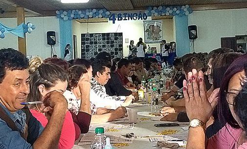 Sucesso o 4ª bingão do Cmei Eresmira dos Anjos Ferreira