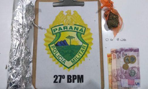 Policia Militar fecha ponto de venda de drogas no Horst Waldraff II