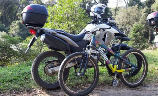 PM de Porto União recupera bicicleta furtada