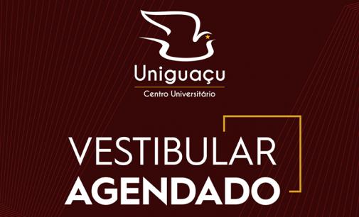 Inscrições abertas para o Vestibular Agendado da Uniguaçu