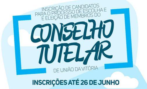 Aberta as inscrições para Conselheiro Tutelar em União da Vitória