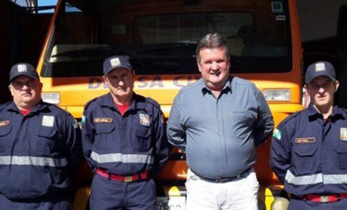 Bombeiros Comunitários de Mallet recebem novas fardas