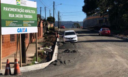 Rua Jacob Tereska será pavimentada