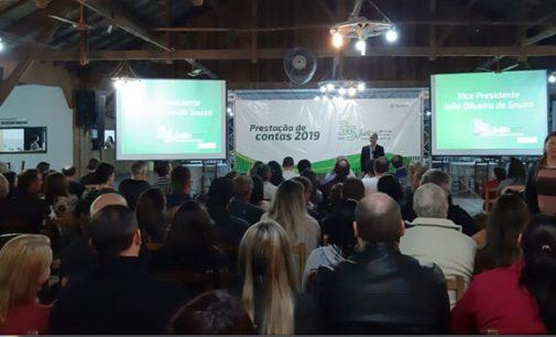Cooperados do Sicredi Porto União participam da Prestação de Contas