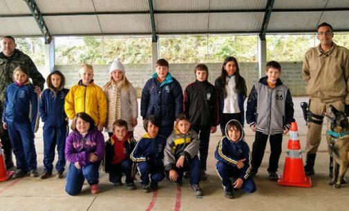 Projeto PUMA encerra atividades com alunos de Porto União