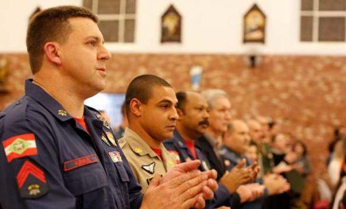 Missa de Ação de Graças marca o Dia Nacional do Bombeiro