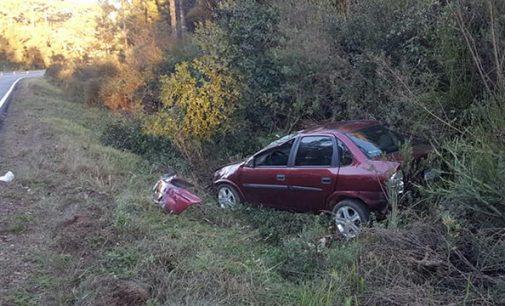 Mais um acidente na PR 170 deixa dois feridos