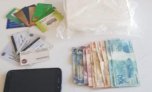 Traficante é preso no centro de União da Vitória com cocaína