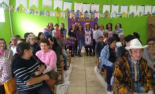 Saúde de Porto União realiza Arraiá com grupo do Hiperdia