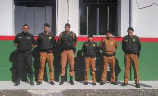 Novos Aspirantes do 27º BPM visitam UPA de Porto União