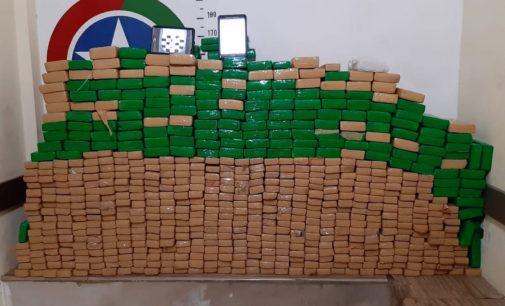 Polícia Militar faz relatório da apresentação de meia tonelada de drogas